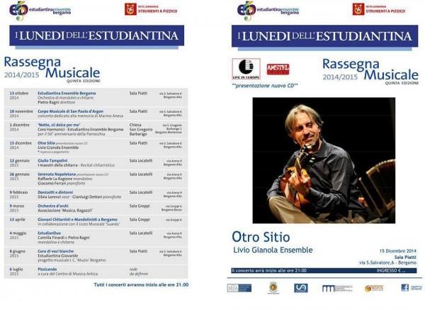 Presentazione nuovo disco Livio Gianola