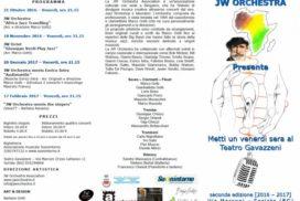 Metti un venerdi sera al Teatro Gavazzeni 2016 17