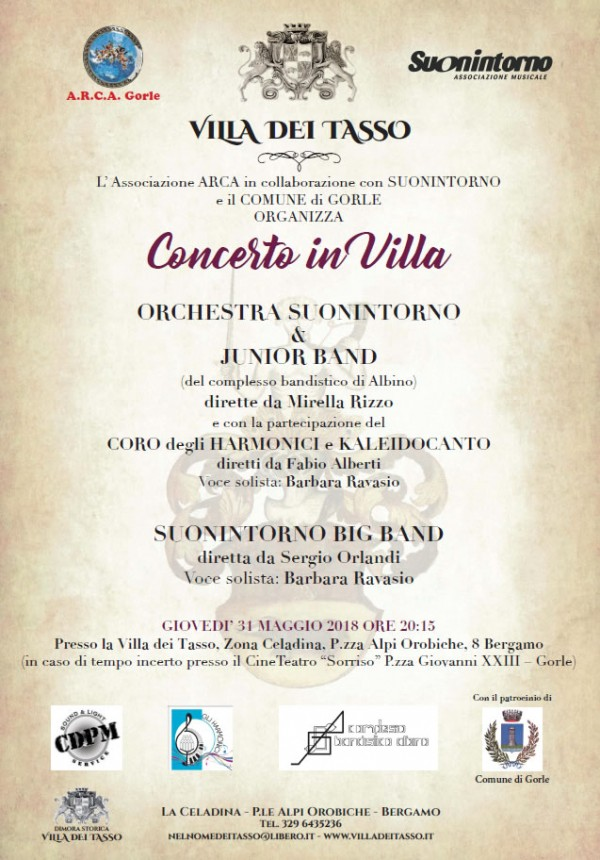 Concerto in villa 2018