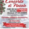 Locandina Concerto di Natale