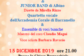 Immagine concerto di Natale 2019